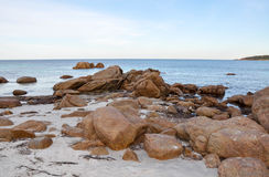 Rocky Bunker Bay: Western Australia Royalty Free Stock Photography