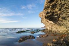 Rocky Cabo de Gata Coastline Royalty Free Stock Image