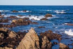Rocky California Coastal Landscape fotos de archivo