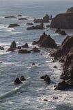Rocky California Shoreline 1 Imagem de Stock