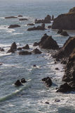 Rocky California Shoreline 1 Stock Image