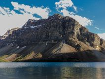 Rocky Canada. Road Tripping through the Canadian Rockies in Alberta, followed a path to this amazing mountain and lake scene Stock Image