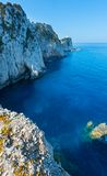 Rocky cape of Lefkas island (Greece) Stock Photography