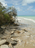Rocky Caribbean Beach foto de archivo