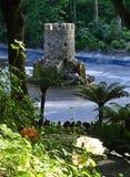 Rocky Castle auf Bodenhöhe - Pena-Palast - Sintra, Portugal Lizenzfreie Stockfotografie