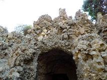 Rocky cave Stock Photography