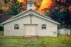 Rocky Chapel Missionary Baptist Church Imágenes de archivo libres de regalías