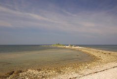 rocky chorwackiego na plaży Zdjęcie Stock