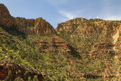 Rocky Cliff of the Grand Canyon Stock Image