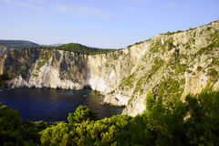 Rocky cliff Stock Images