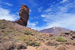 Rocky cliff of Teide Stock Photo