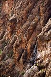 Rocky Cliff Texture Stock Photography