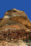 Rocky cliffs, the Black Sea coast Royalty Free Stock Image