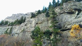 Rocky Cliffs de stimulant tombe canyon Photo stock