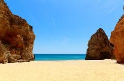 Rocky cliffs on the seashore Stock Photo
