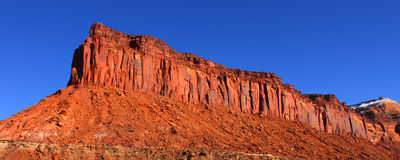 Rocky Cliffs of Utah Stock Photos