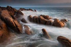 Rocky coast Royalty Free Stock Photos