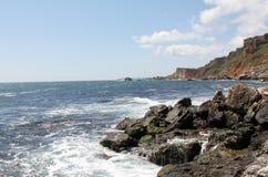 Rocky coast Royalty Free Stock Photography