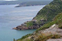 Rocky Coast. A view of a rocky coastline Stock Image