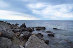 Rocky coast Stock Photo