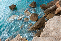 Rocky coast Royalty Free Stock Photos