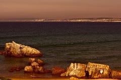 Atlantic Ocean in Portugal Royalty Free Stock Photo