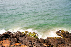 Rocky coast of Bahia Royalty Free Stock Photo
