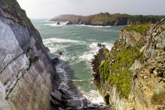 Rocky coast at Baltimore. Co. Cork - Ireland royalty free stock images