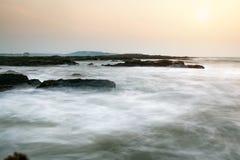 Rocky coast Stock Images