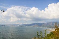 Rocky coast of Black sea Stock Photo