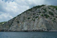 Rocky coast of Black sea. Stock Image