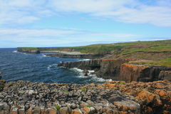 Rocky Coast, County Clare, Ireland Royalty Free Stock Photo