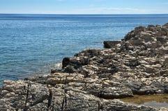 Rocky coast Croatia Royalty Free Stock Images