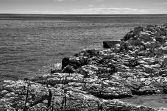 Rocky coast Croatia Royalty Free Stock Image