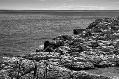 Rocky coast Croatia Royalty Free Stock Image