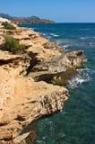 Rocky Coast de Kauai Photos stock