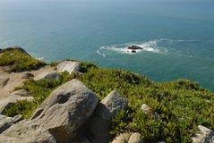 Rocky Coast du Portugal Photographie stock libre de droits