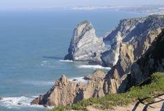 Rocky Coast du Portugal Image libre de droits