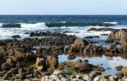Rocky coast at Ireland Stock Photos