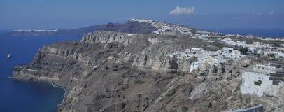 The rocky coast of the island in the Aegean sea. Royalty Free Stock Photo