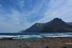 Rocky coast island landscape Stock Photography