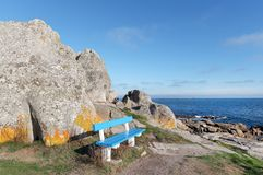 Goudoul rock in Lesconil coast Royalty Free Stock Photo
