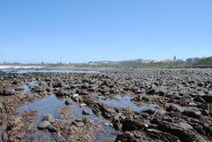 Rocky Coast Line. Rocky part of Gonubie Coastline Royalty Free Stock Photography