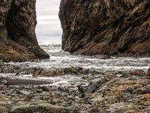 Free Rocky Coast Line Stock Image - 56785071