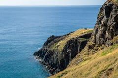 Rocky coast of Madeira Stock Photo
