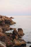 Rocky coast of Maine Stock Photography