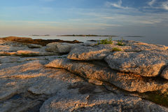 Rocky Coast Maine Royalty Free Stock Photography