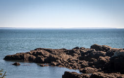 Rocky coast maine Royalty Free Stock Image