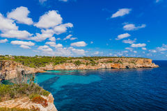 Rocky coast Majorca island Spain Mediterranean Sea Royalty Free Stock Image