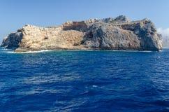The rocky coast of the Mediterranean sea Royalty Free Stock Photography